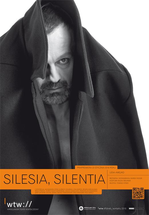 """Silesia, Silentia"", reż. Marek Fiedor, plakat (źródło: materiały prasowe organizatora)"
