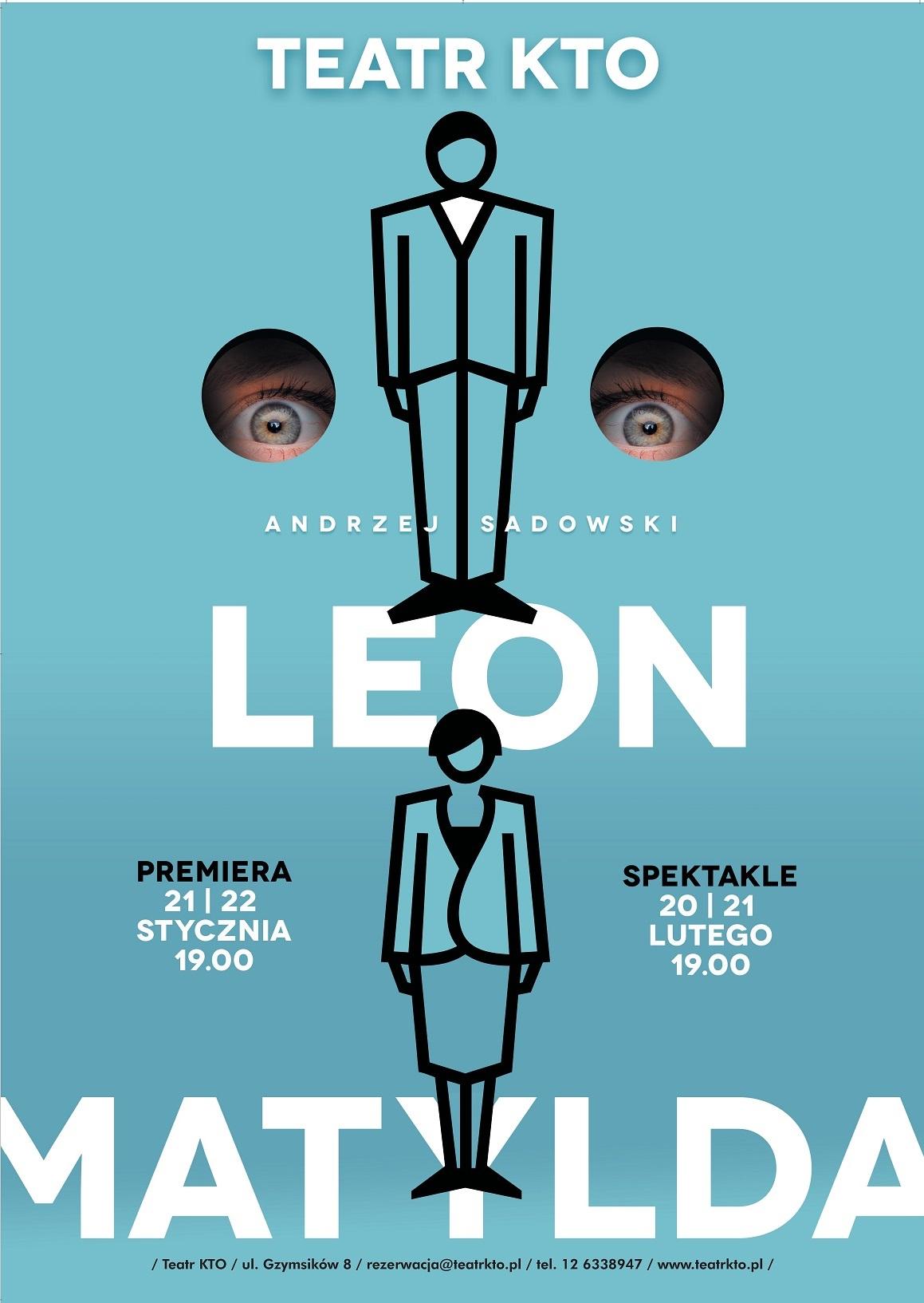 """""""Leon i Matylda"""", reż. Andrzej Sadowski , plakat (źródło: materiały prasowe organizatora)"""