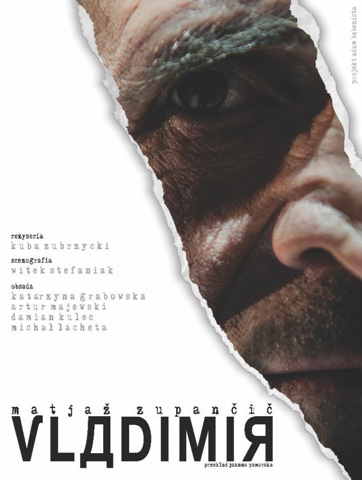 """""""Vladimir"""", reż. Kuba Zubrzycki, plakat (źródło: materiały prasowe organizatora)"""