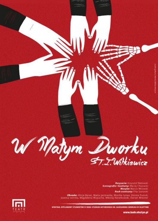 """""""W małym dworku"""", reż. Krzysztof Rekowski, plakat (źródło: materiały prasowe organizatora)"""