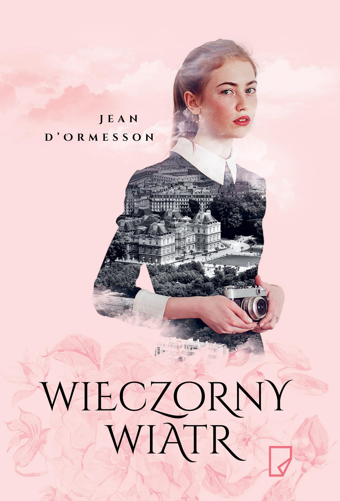 """Jean D'Ormesson, """"Wieczorny wiatr"""" – okładka (źródło: materiały prasowe)"""