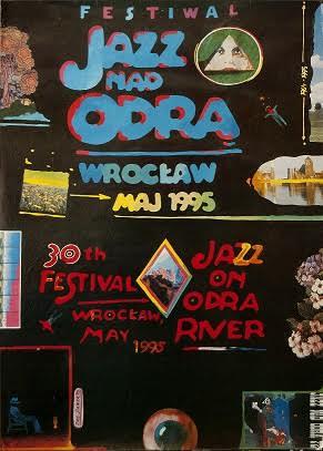 """""""Festiwal Jazz nad Odrą"""" – plakat z 1997 roku (źródło: materiały prasowe organizatora)"""