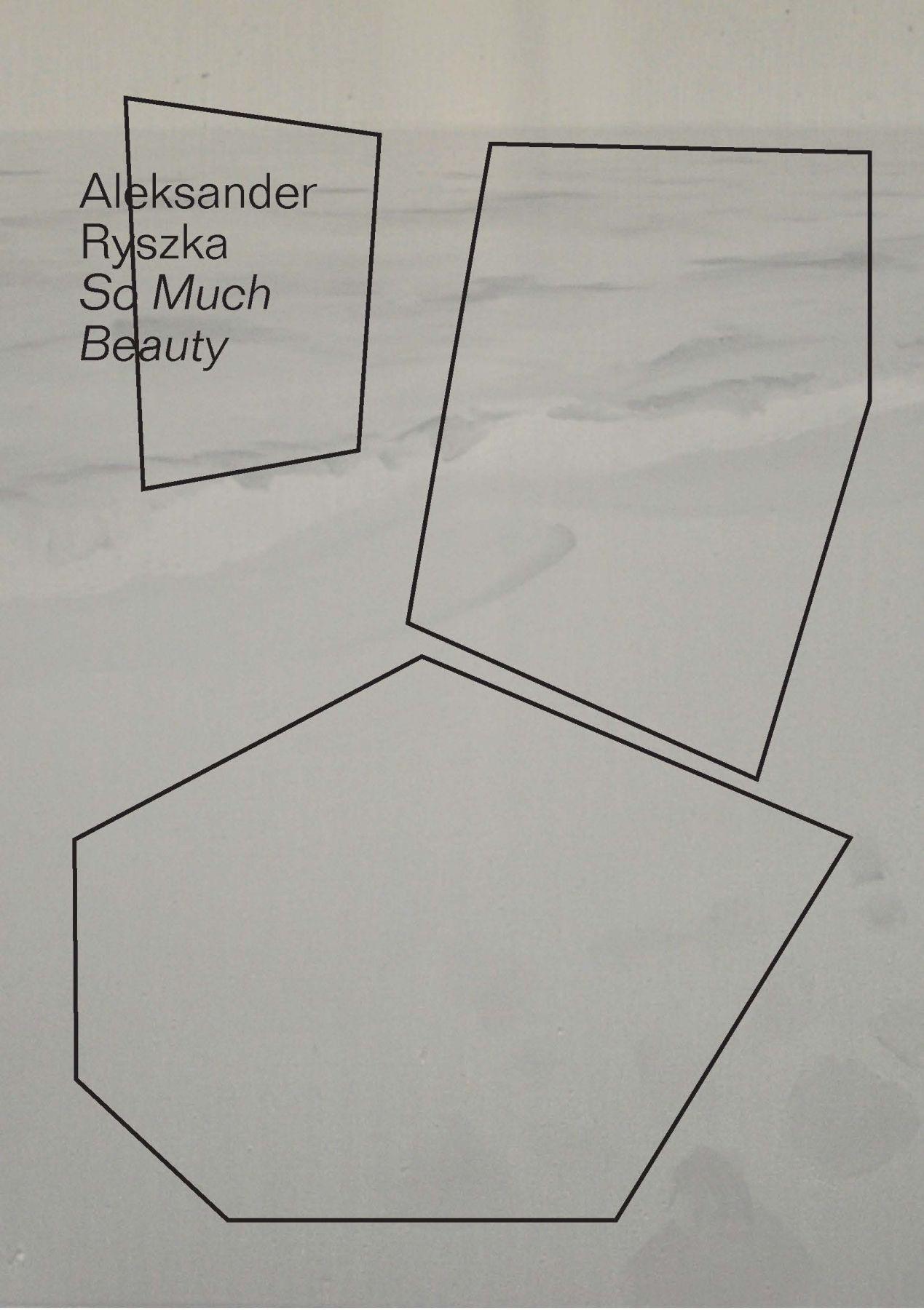 """Aleksander Ryszka, """"So much beauty"""" – plakat (źródło: materiały prasowe organizatora)"""