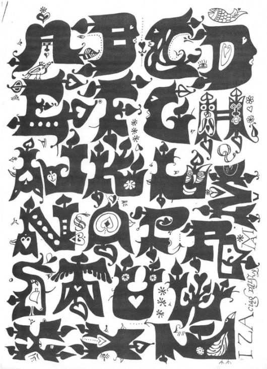 Andrzej Kot, alfabet (źródło: materiały prasowe organizatora)