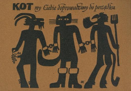 """Andrzej Kot, """"Kot my Ciebie doprowadzimy do porządku"""" (źródło: materiały prasowe organizatora)"""