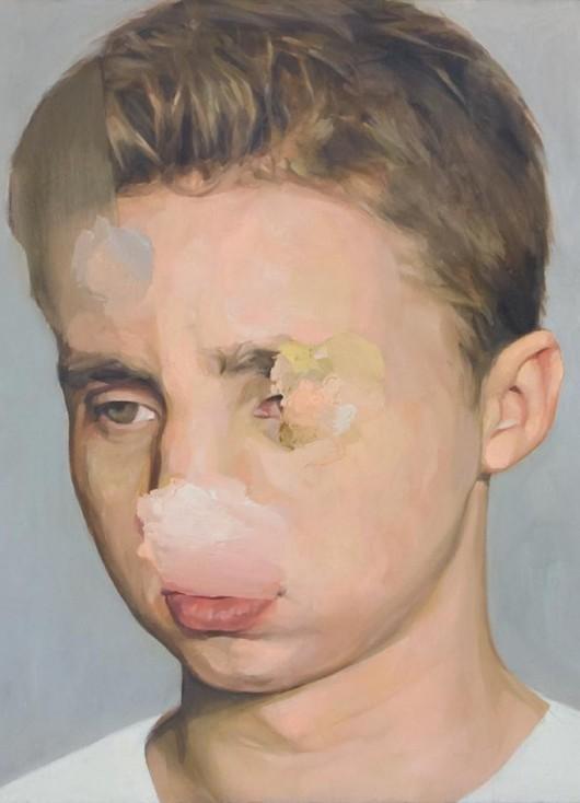 """Cyryl Polaczek, """"Autoportret"""" (źródło: materiały prasowe organizatora)"""