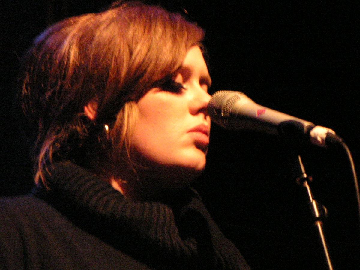 Adele, fotografia (źródło: Wikipedia. Na licencji Creative Commons)
