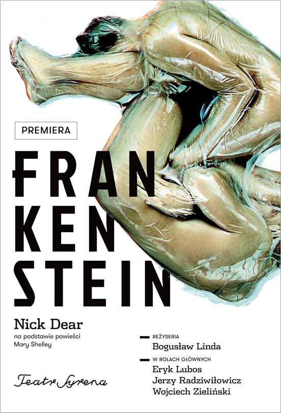 """""""Frankenstein"""", reż. Bogusław Linda, plakat (źródło: materiały prasowe organizatora)"""