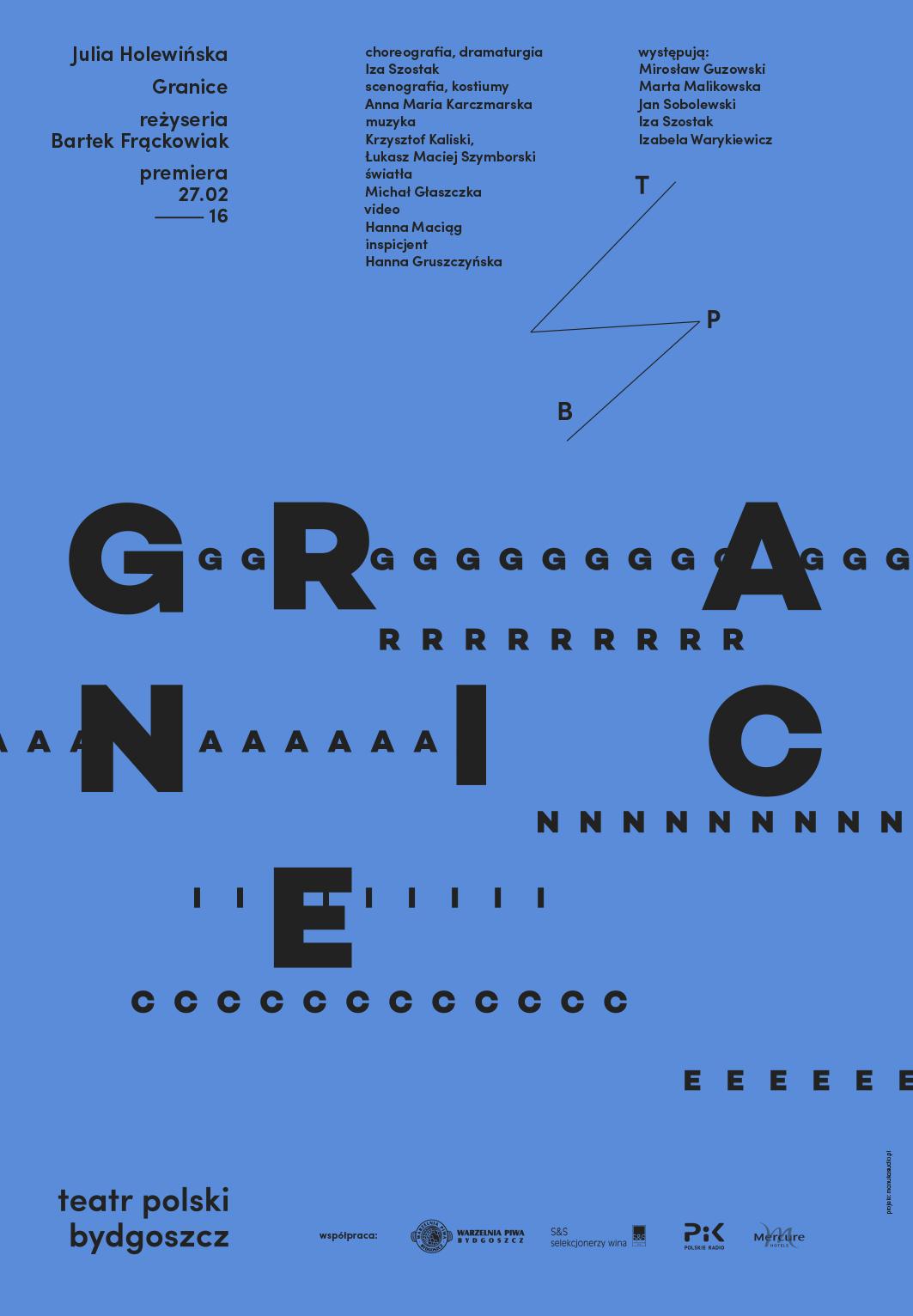 """""""Granice"""", reż. Bartek Frąckowiak, plakat (źródło: materiały prasowe organizatora)"""