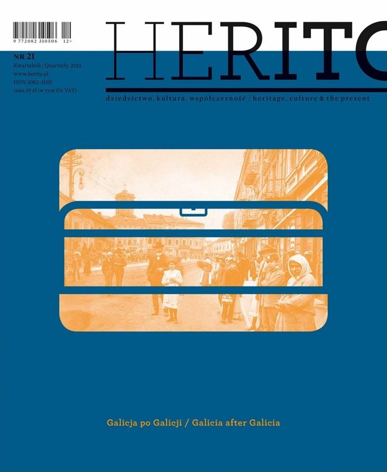 """""""Herito"""": Galicja po Galicji – okładka (źródło: materiały prasowe)"""
