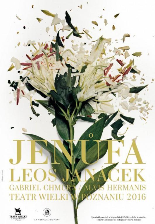 """""""Jenůfa"""", reż. Alvis Hermanis, plakat (źródło: materiały prasowe organizatora)"""