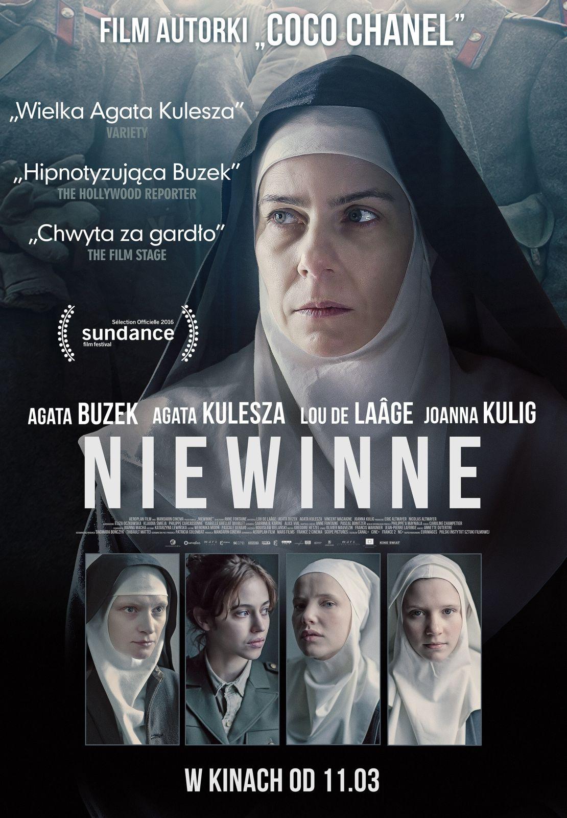 """""""Niewinne"""", reż. Anne Fontaine – plakat (źródło: materiały prasowe organizatora)"""
