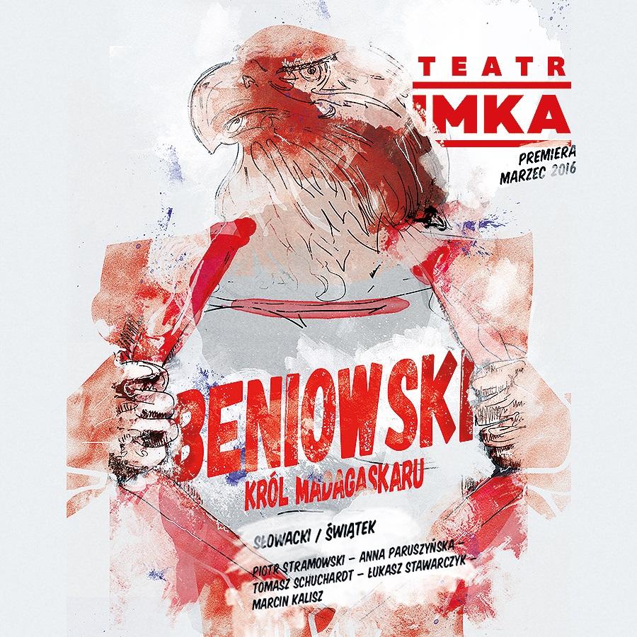 """Beniowski, król Madagaskaru"", reż. Paweł Świątek, plakat (źródło: materiały prasowe organizatora)"