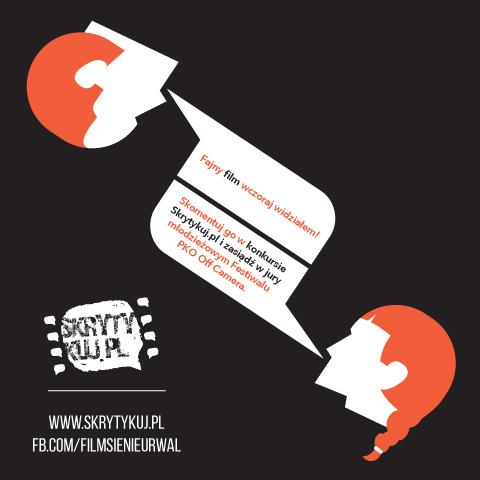 Skrytykuj i zostań jurorem na festiwalu filmowym PKO Off Camera w Krakowie (źródło: materiały prasowe organizatora)