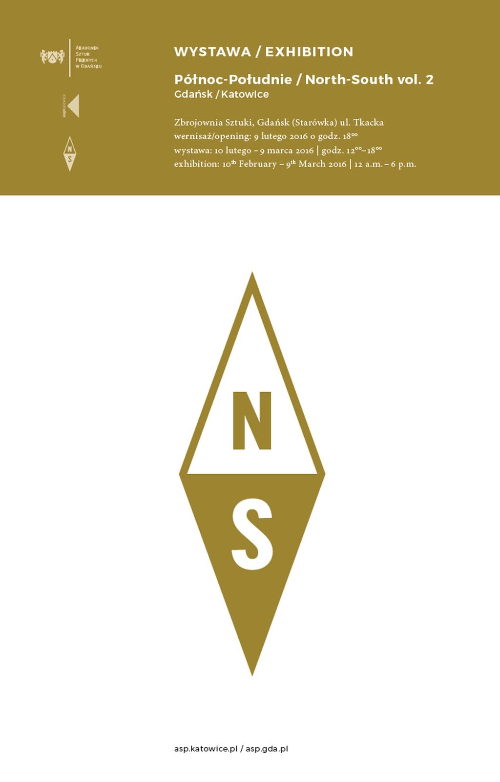 """""""Północ–Południe / North–South vol. 2"""" – plakat (źródło: materiały prasowe)"""