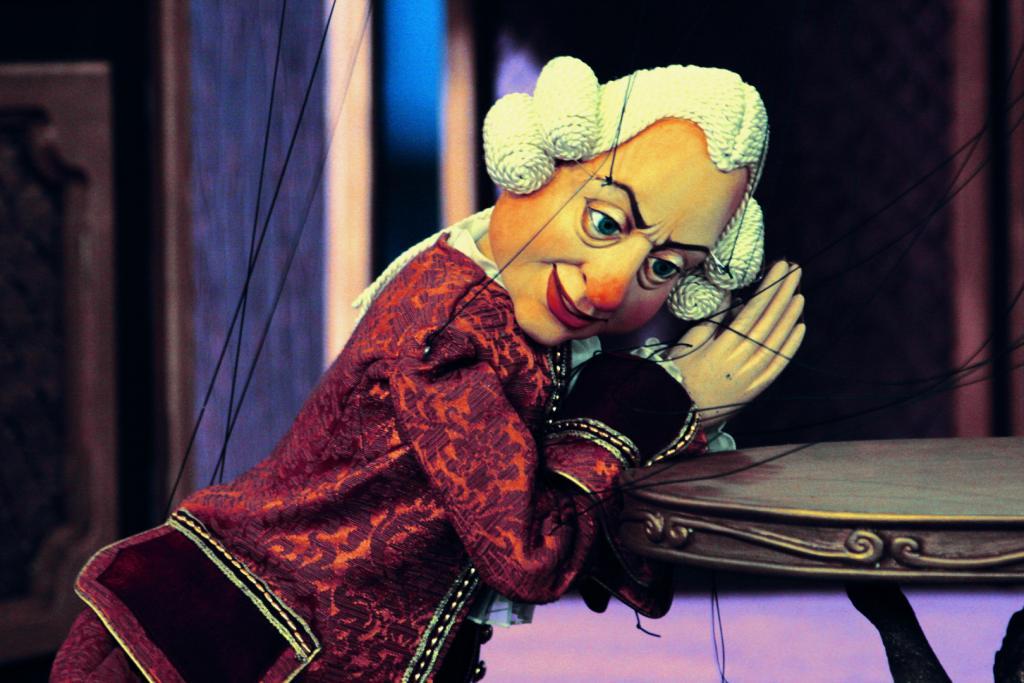Scena Marionetek Warszawskiej Opery Kameralnej (źródło: materiały prasowe)