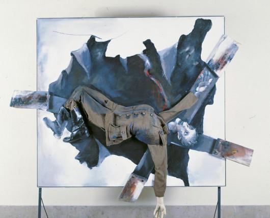 Tadeusz Kantor, Klęska wrześniowa, 1990, Muzeum Armii Krajowej w Krakowie (źródło: materiały organizatora)