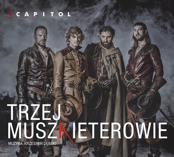 """Zespół Teatru Capitol, """"Trzej Muszkieterowie"""" – okładka albumu (źródło: materiały prasowe wytwórni)"""