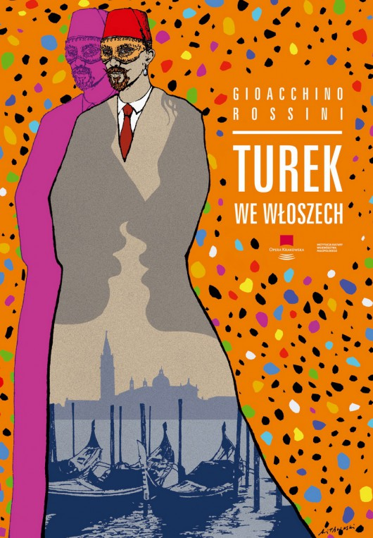 """""""Turek we Włoszech"""", reż. Włodzimierz Nurowski, plakat (źródło: materiały prasowe organizatora)"""