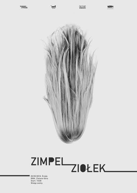 """""""Zimpel / Ziołek"""" – plakat (źródło: materiały prasowe organizatora)"""