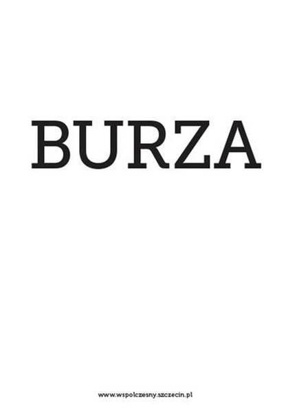"""William Szekspir """"Burza"""", reż. Anna Augustynowicz – plakat (źródło: materiały prasowe)"""