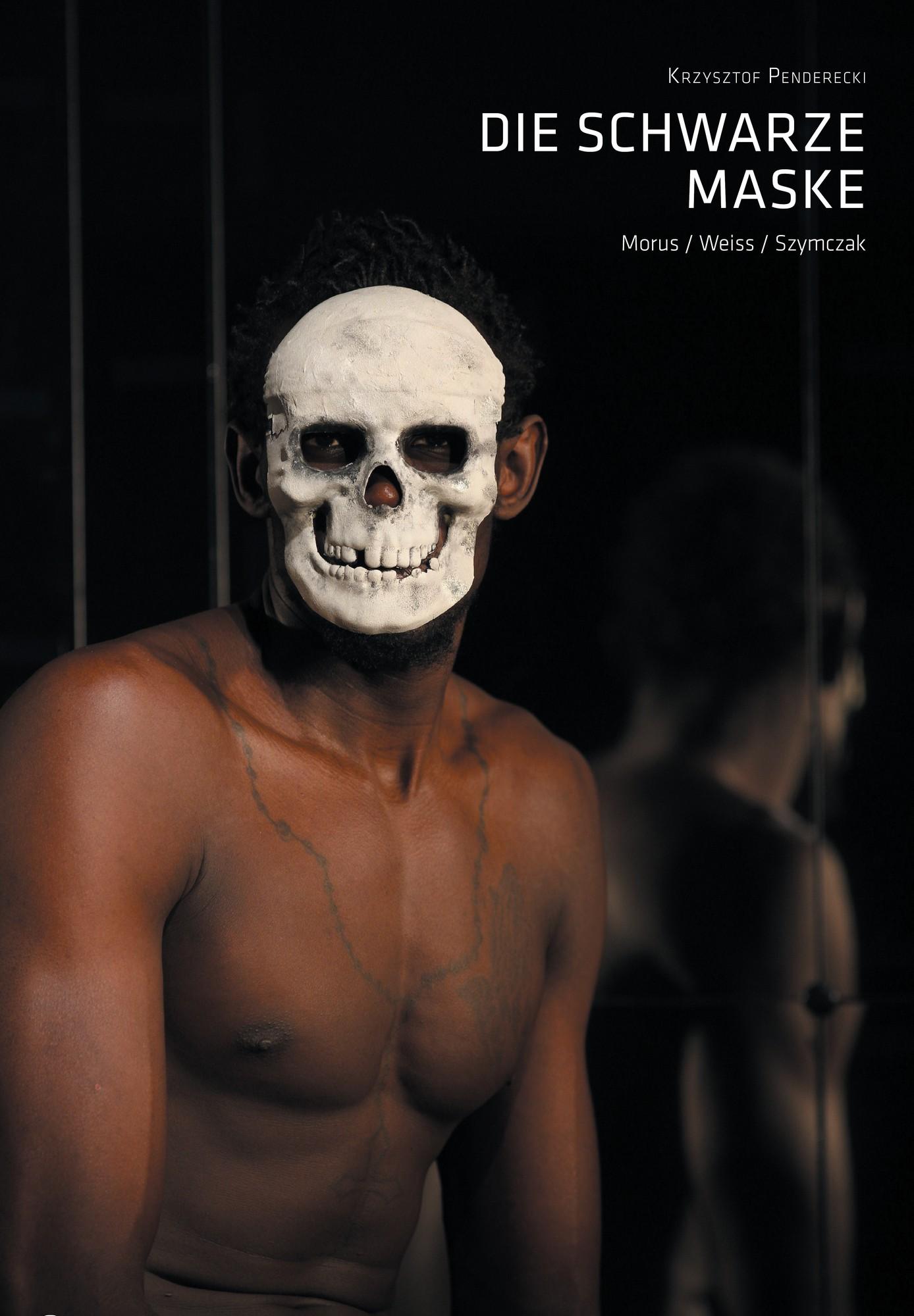 """Czarna maska"" – plakat (źródło: materiały prasowe)"