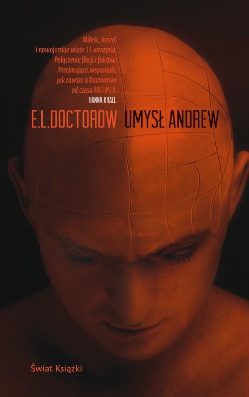 """E.L. Doctorow, """"Umysł Andrew"""" – okładka (źródło: materiały prasowe)"""