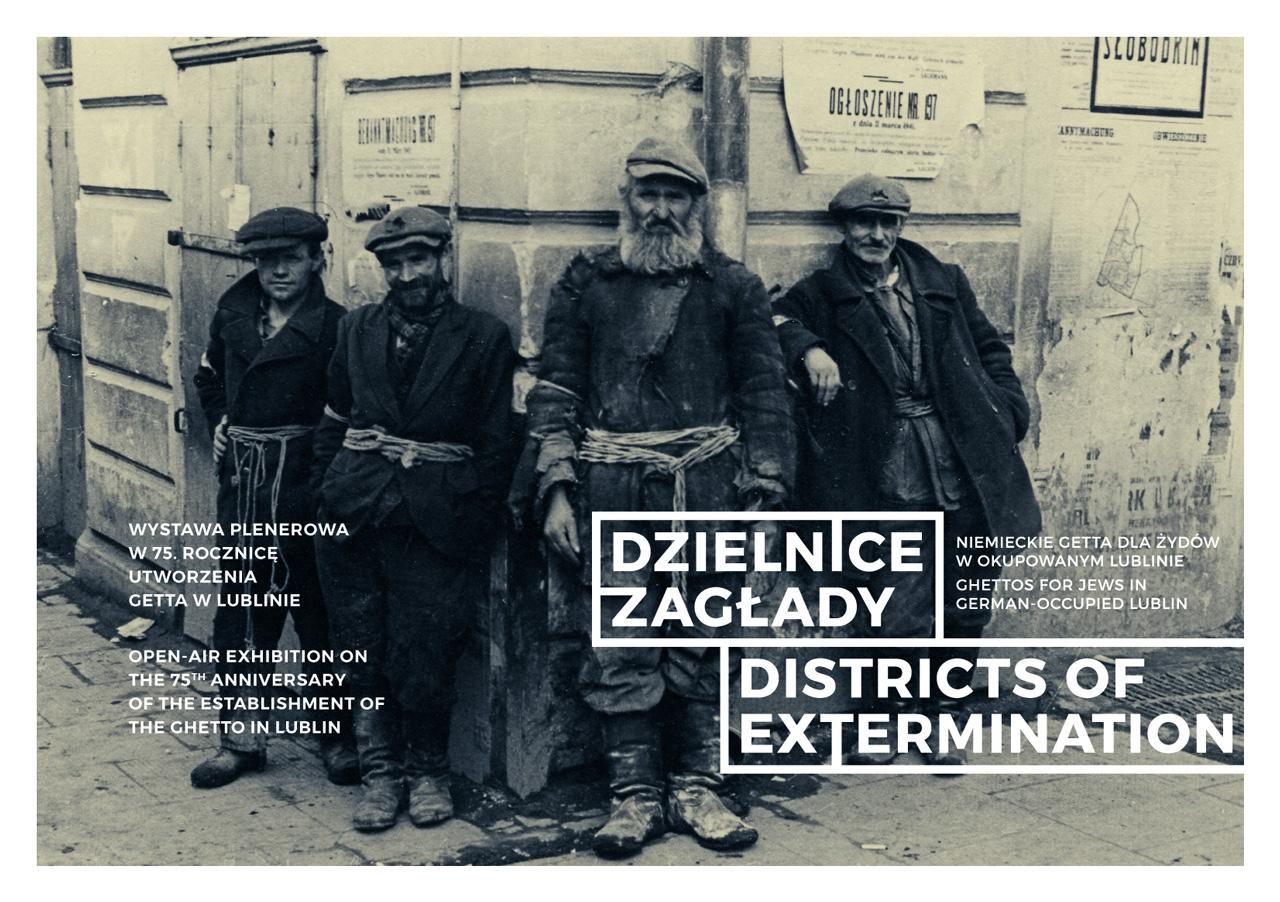 """""""Dzielnice zagłady. Niemieckie getta dla Żydów w okupowanym Lublinie"""" (źródło: materiały prasowe)"""