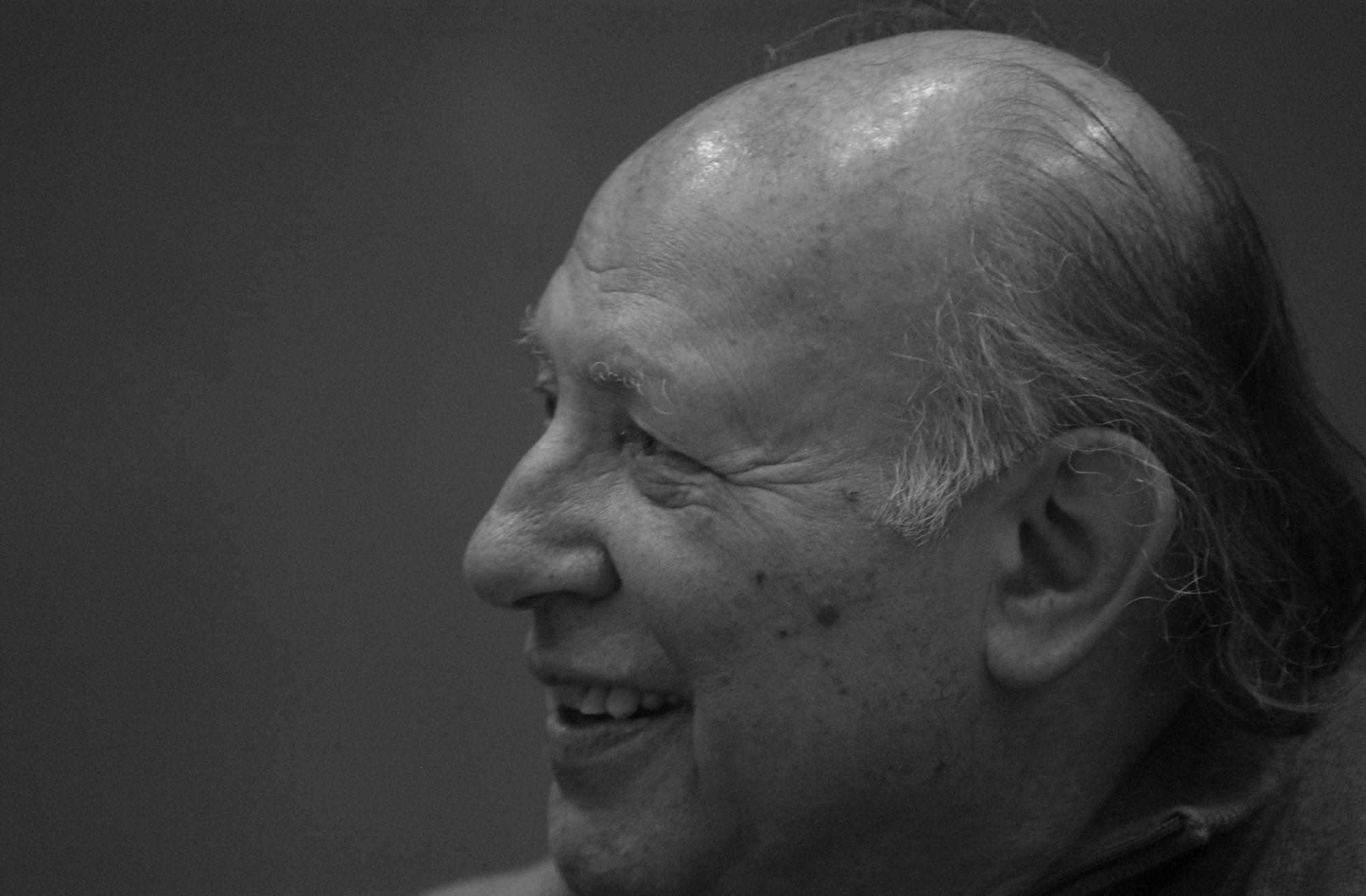 Imre Kertész, fot. Csaba Segesvári (źródło: Wikimedia Commons)