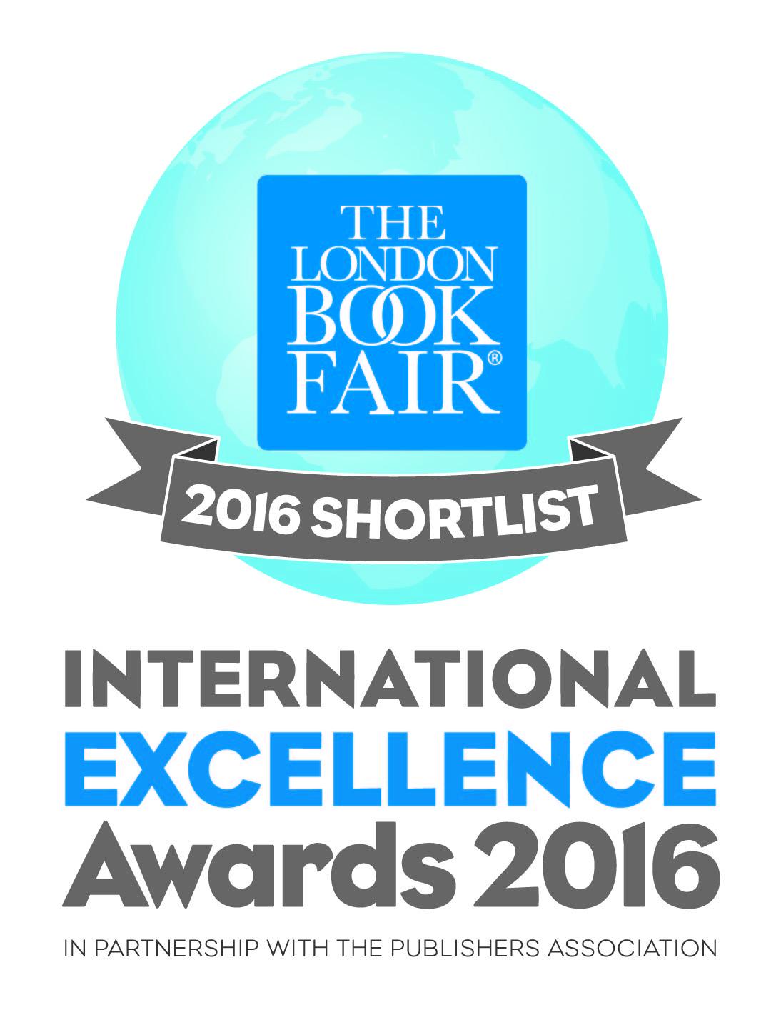 The London Book Fair International Excellence Awards – logotyp (źródło: materiały prasowe)