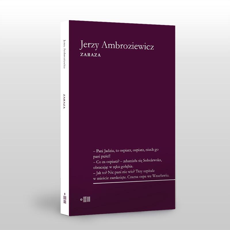 """Jerzy Ambroziewicz, """"Zaraza"""" – okładka (źródło: materiały prasowe)"""