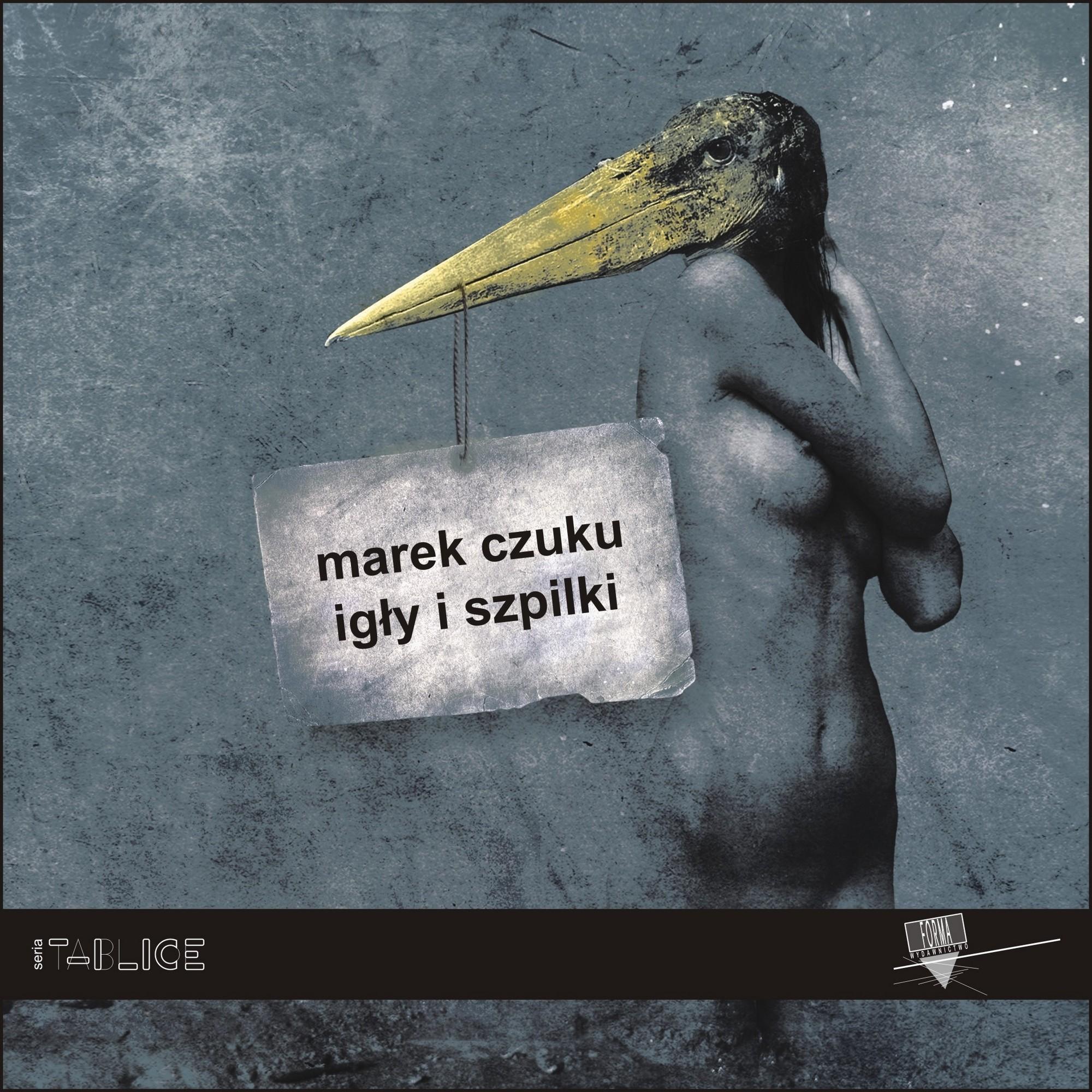 """Marek Czuku, """"Igły i szpilki"""" – okładka (źródło: materiały prasowe)"""
