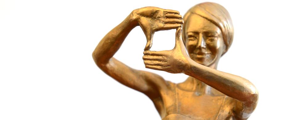 Statuetka PISF, fot. Marcin Kułakowski (źródło: materiały prasowe organizatora)