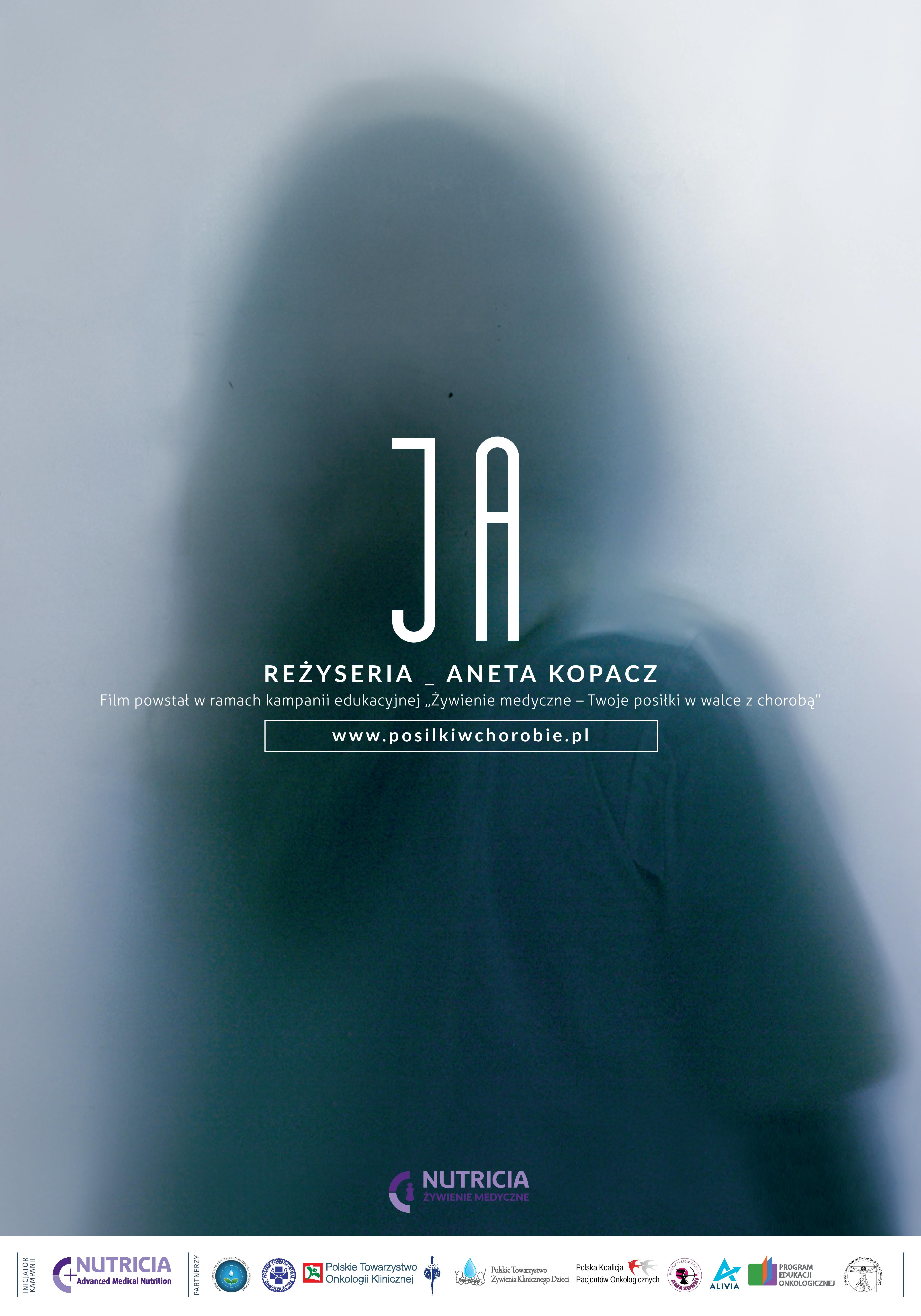"""""""JA"""", Aneta Kopacz, plakat (źródło: materiały prasowe dystrybutora)"""