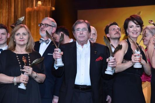 Gala rozdania Polskich Nagród Filmowych Orły 2016 w Teatrze Polskim w Warszawie, fot. Mateusz Jagielski / East News (źródło: materiały prasowe organizatora)