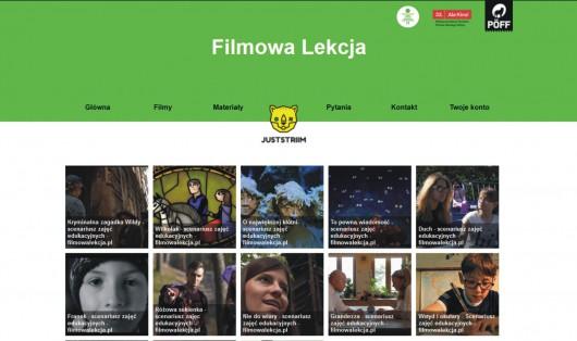 Portal Filmowa Lekcja (źródło: materiały prasowe organizatora)