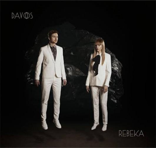 """Rebeka, """"Davos"""" – okładka albumu (źródło: materiały prasowe wydawcy)"""