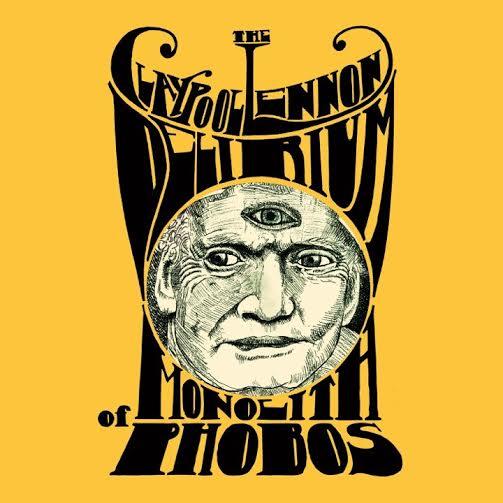 """The Claypool Lennon Delirium, """"Monolith of Phobos """" – okładka albumu (źródło: materiały prasowe wydawcy)"""