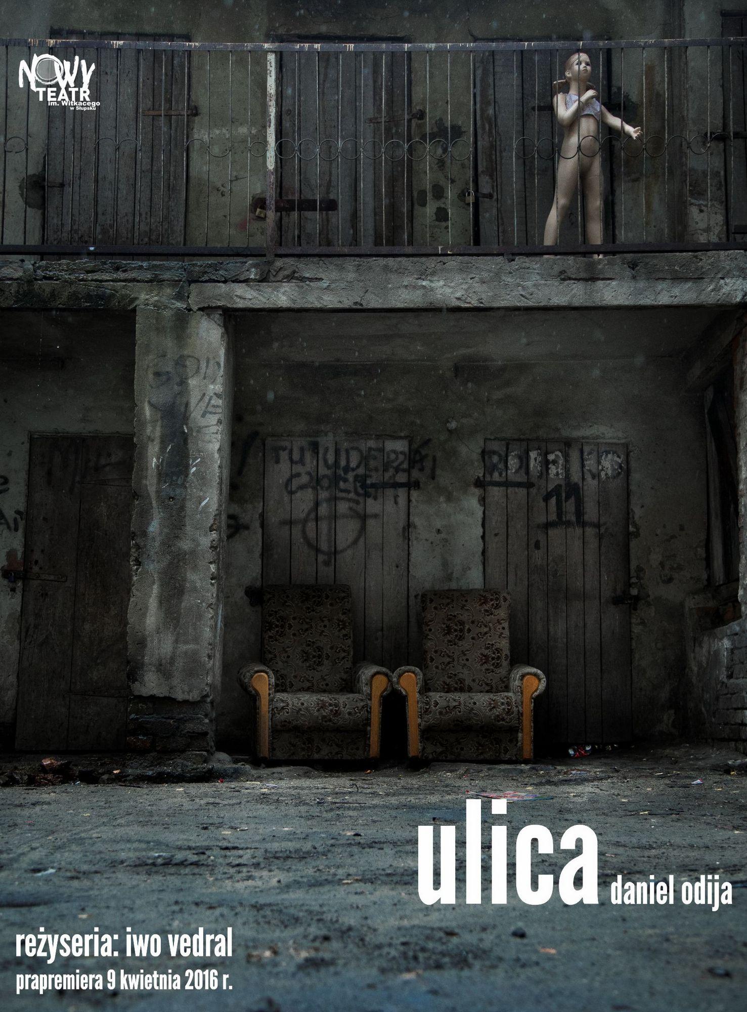 """""""Ulica"""" – plakat (źródło: materiały prasowe)"""