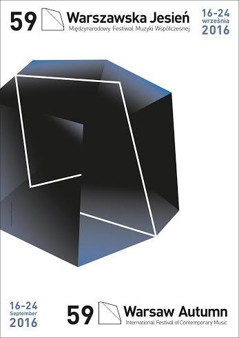 """""""59. Międzynarodowy Festiwal Muzyki Współczesnej Warszawska Jesień"""" – plakat (źródło: materiały prasowe organizatora)"""
