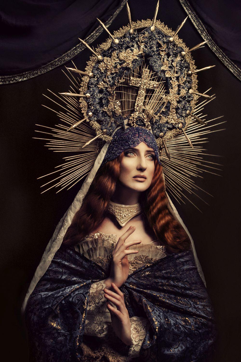 """""""Ruda Madonna"""", zdjęcie, pomysł i stylizacja – Katarzyna Widmańska. Dzięki uprzejmości artystki (źródło: materiały prasowe organizatora)"""