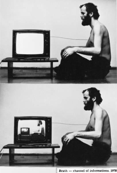 """Paweł Kwiek, """"Video i oddech"""", 1978 (źródło: materiały prasowe organizatora)"""