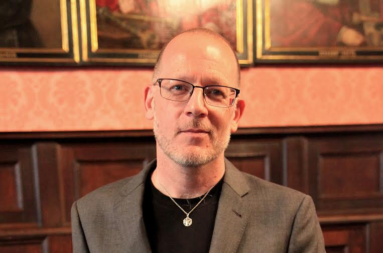 Bill Johnston, fot. Bogdan Kuc dla Instytutu Książki (źródło: materiały prasowe organizatora)