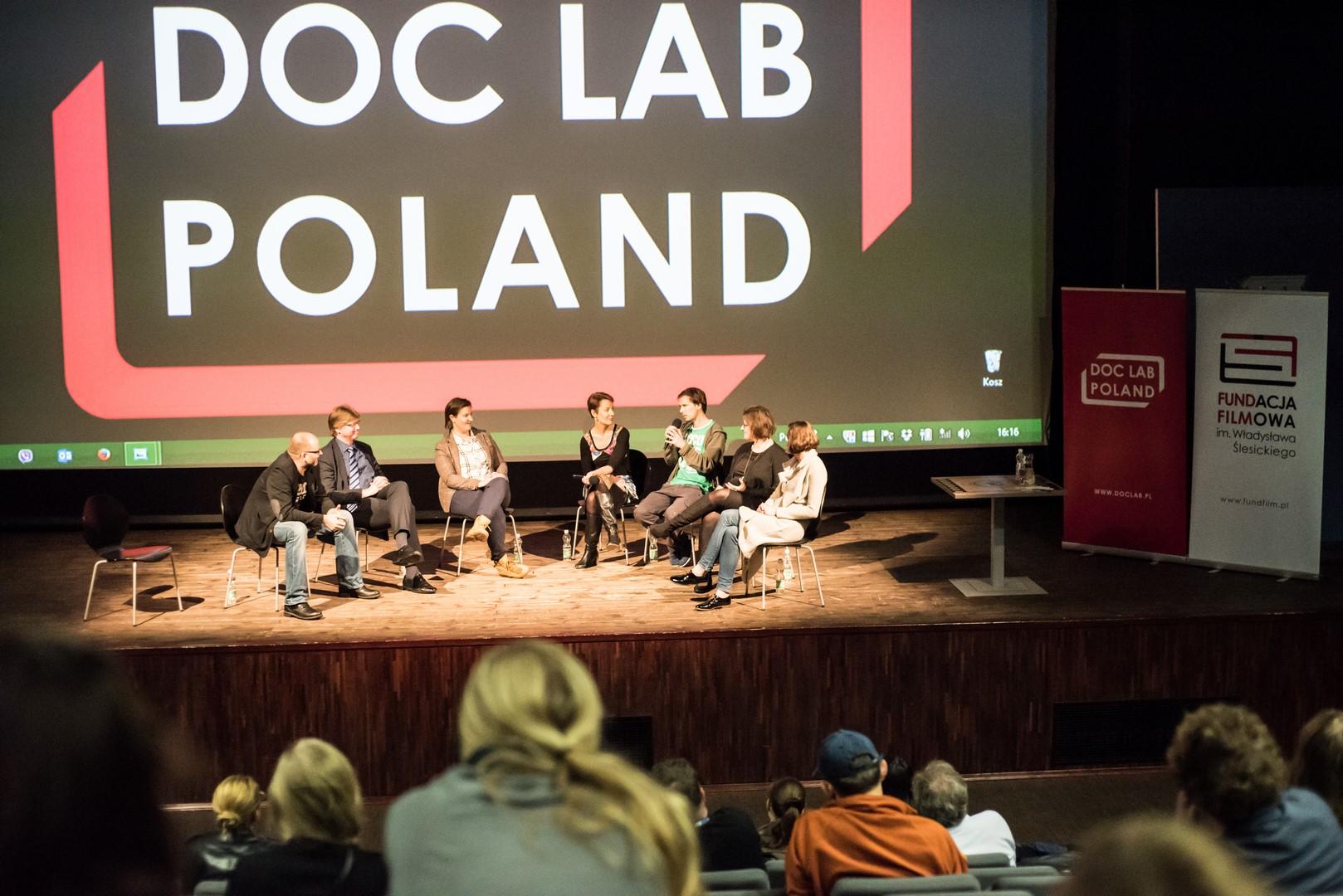 Doc Lab Poland – dyskusja, fotografia (źródło: materiały prasowe organizatora)
