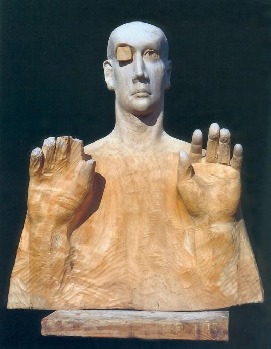 "Edward Sitek, ""Chirurg czasu"", 1997, fot. Dariusz Sitek (źródło: materiały prasowe organizatora)"