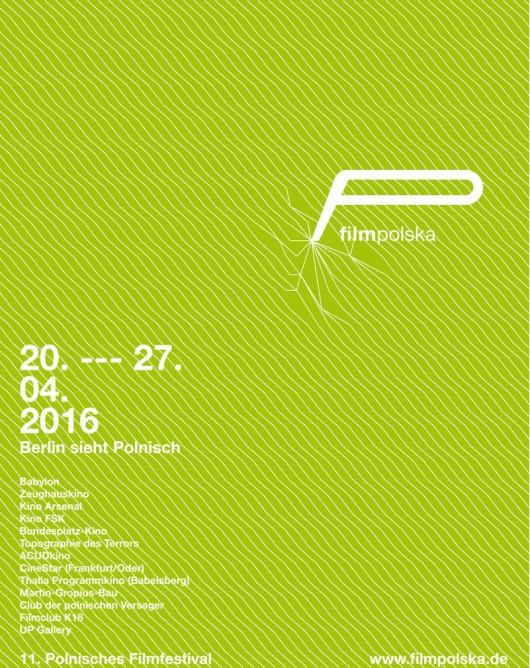 Festiwal filmPolska – plakat (źródło: materiały prasowe organizatora)