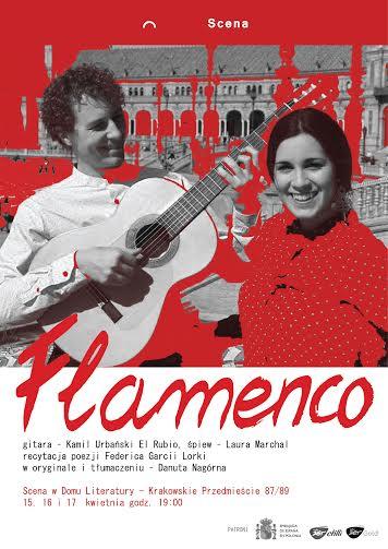 """""""Flamenco"""" – plakat (źródło: materiały prasowe organizatora)"""