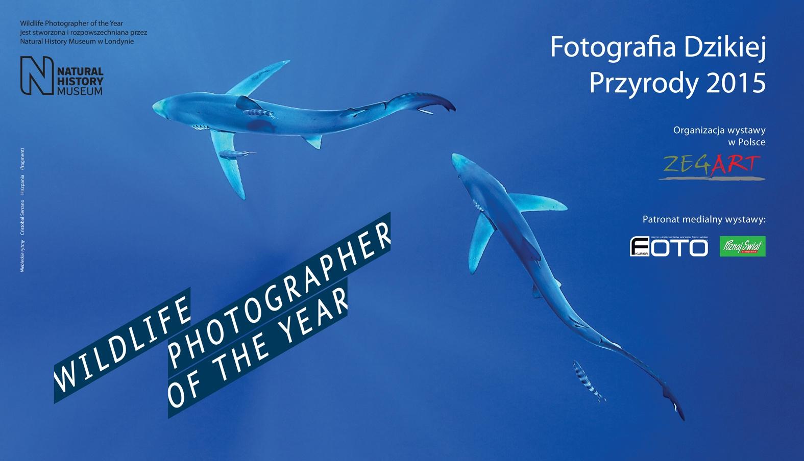 """""""Fotografia dzikiej przyrody"""" – plakat (źródło: materiały prasowe organizatora)"""