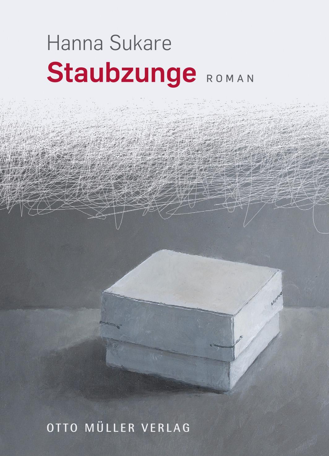 """Hanna Sukare, """"Staubzunge"""" (Zakurzony język) – okładka (źródło: materiały prasowe)"""