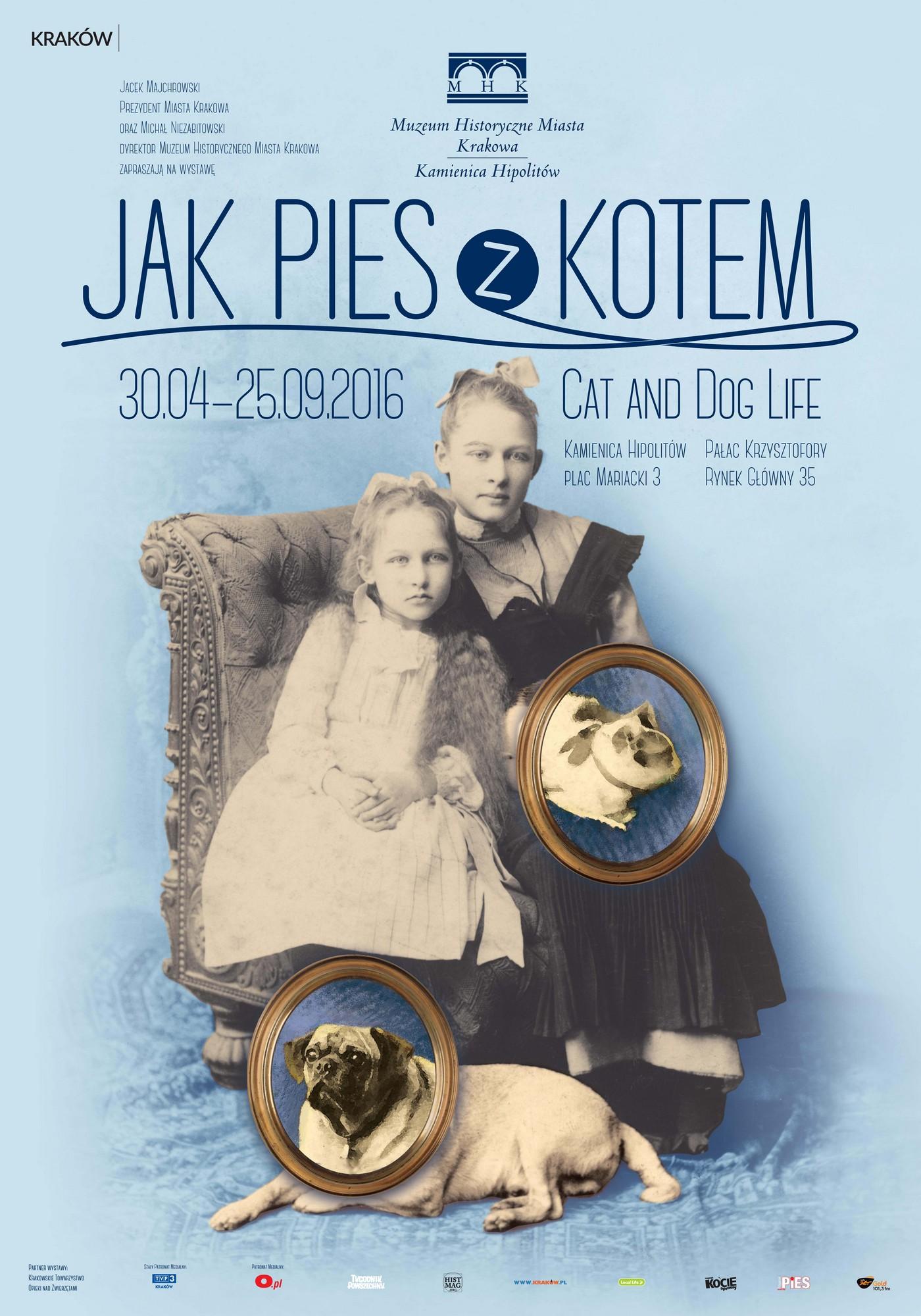 """""""Jak pies z kotem"""" – plakat (źródło: materiały prasowe)"""